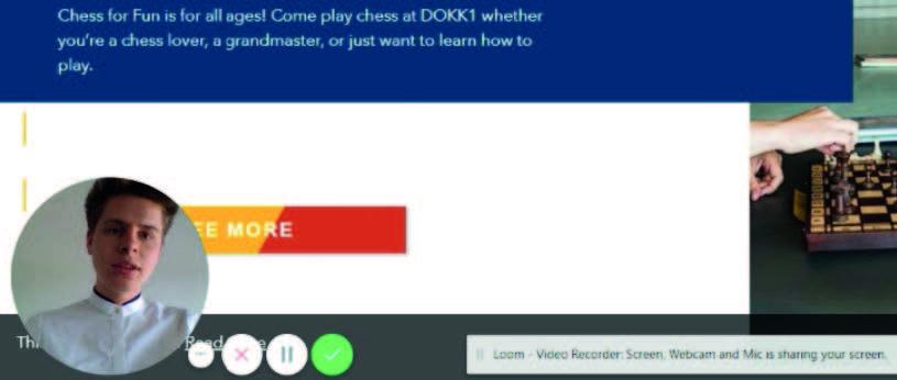 dokk1 user testing loom