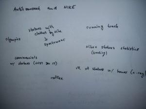 idea generating - nike